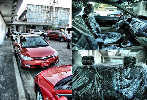 Habanero Red Civic 3